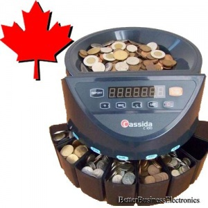 Cassida C100 Canadian Coin Counter