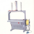 STRAPPING MACHINE- Preferred Pack TP-101AP Fully Automatic Package Pressing and Arch Banding Machine