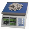 KLOPP KCS-12 Series 12 Lbs. Capacity Highly Accurate Coin Scales (9112) - FREE SHIPPING!