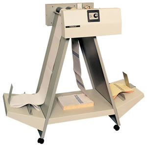 Floor Standing Two-Part A-Frame Decollator