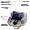 Billcon K-233W Deluxe Wide Bill Counter/Optional Check Endorser/Optional Dater - FREE SHIPPING!