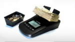 AccuBANKER's MS10 Portable Currency and Coin Counter - FREE SHIPPING!