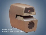 DATE & TIME STAMP - RapidPrint ARC-E Series Automatic Date and Time Stamp Machine with Analog Clock