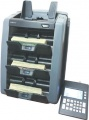 AMROTEC X-3000 Three (3) Pocket Currency Sorter with 3-Stackers, Currency Counter, Discriminator