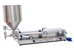 Filling and Capping Machines | Preferred Pack BL-500 Semi-Automatic Large Volume Table Top Piston Filler