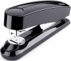 Dahle NOVUS B4FC -2.375 Inch Reach 50 Sheet BLACK Compact Flat Clinch Manual Stapler 020-1423