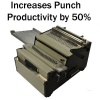 DFG Digital Finishing Group PUNCH All-In-One Mechanical TableTop Punch Binder Bookletmaker/Binder