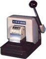 ABE 800-N Manual 6 Wheel Numbering Security Perforator
