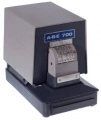 ABE 700 NC2 Electric Perforator 3 Lines - 6 Wheel Number w/Top + Bottom Fixed Text to 6-7 Chars/Line - FREE SHIPPING!