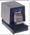 ABE 700 NC - Electric Perforator 2 Lines- 6 Wheel Number w/Top or Bottom Fixed Line w/6-7 Characters