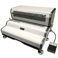 Akiles CoilMac ECP-Plus 4:1  Heavy Duty Electric Coil Punch Machine (Oval Holes) - FREE SHIPPING!