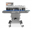 Band Sealers | Preferred Pack PP-1120W Stainless Steel Tilt Head Horizontal Band Sealer with Color Ribbon Printing - FREE SHIPPING!