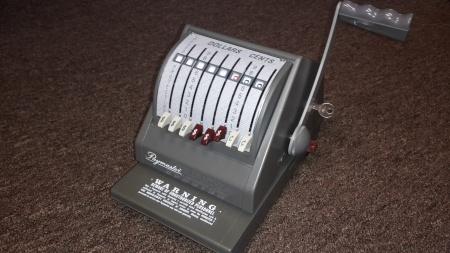 Paymaster 9000-8 Checkwriter