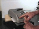 Paymaster Electronic Check Writer PC-16