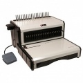 Akiles AlphaBind-CE (AAB-CE) Heavy-Duty Electric Comb Punch & Manual Binding Machine