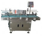 Labelers with Conveyor | Preferred Pack PP-625F Front Panel Labeler - applies label to the front panel of box