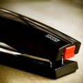 Dahle NOVUS B4 - 2.6 Inch Reach 40 Sheet BLACK Compact Executive Manual Stapler 020-1267