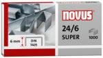 Dahle Novus 040-0026 - 24/6 Super Premium Staples, 24 Gauge, 6 mm Length