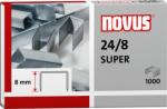 Dahle Novus 040-0038 - 24/8 Super Premium Staples, 24 Gauge, 8 mm Length