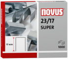 Dahle Novus 042-0045 - 23/17 Super Heavy Duty Staples, 23 Gauge, 17 mm Length