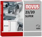 Dahle Novus 042-0240 - 23/20 Super Heavy Duty Staples, 23 Gauge, 20 mm Length