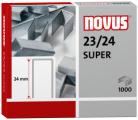 Dahle Novus 042-0644 - 23/24 Super Heavy Duty Staples, 23 Gauge 24 mm Length