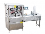 AUTOMATIC TRAY SEALER-Preferred Pack TS-2200/1 In Line Auto Sealer & Cutter w/ Pneumatic Operation